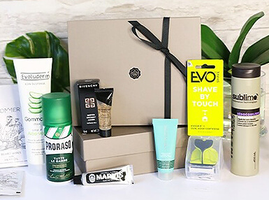 Glossybox Homme Septembre 2017