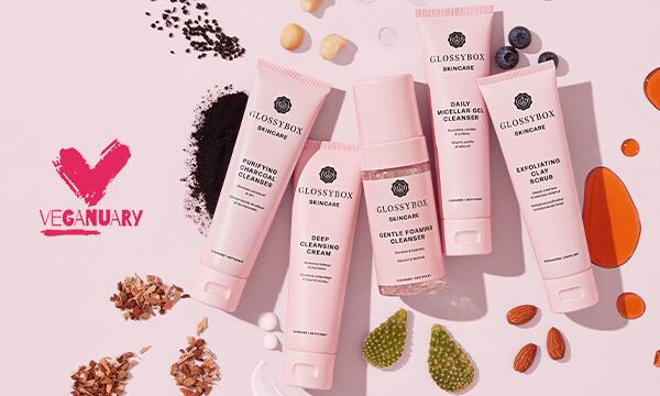 GLOSSYBOX Skincare Veganuary Offer
