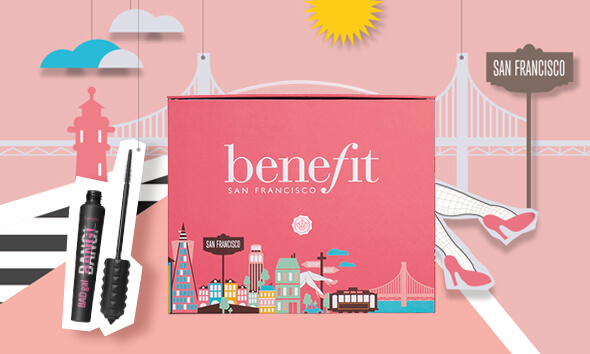 Benefit x GLOSSYBOX Limited Edition