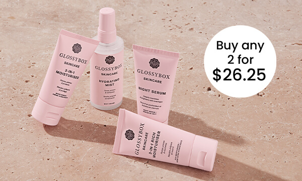 GLOSSYBOX Skincare Offers - 2 for $35