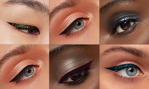 Expérimentez avec la gamme Eyeliner pour créer votre propre look.