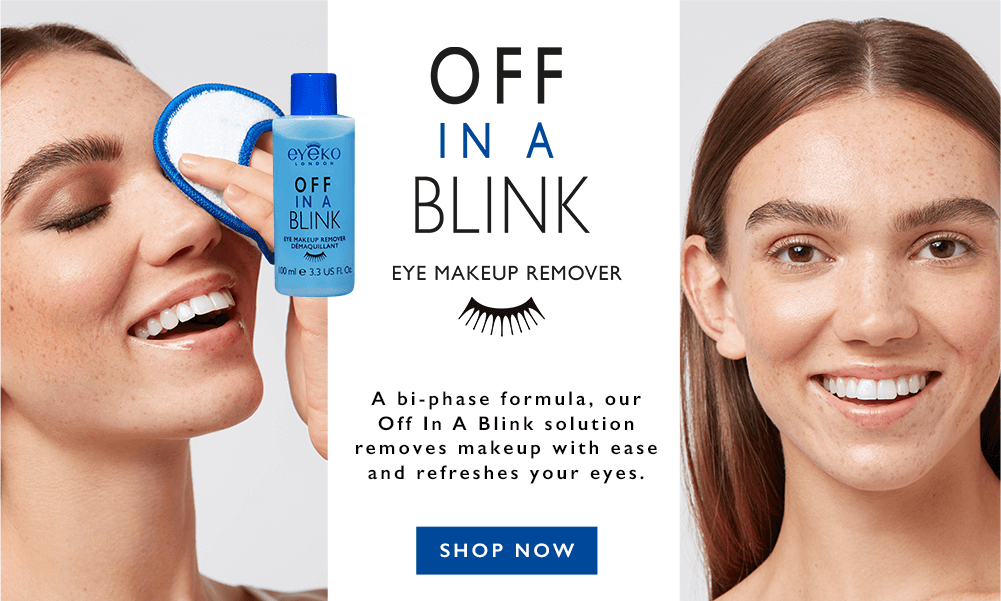 Off in a Blink - New Eye makeup remover