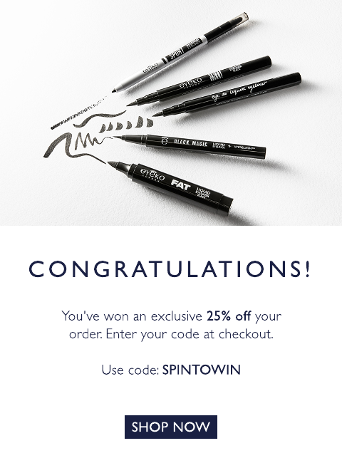 25% off with code: SPINTOWIN
