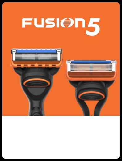 Gillette Fusion5 Razor Closeup
