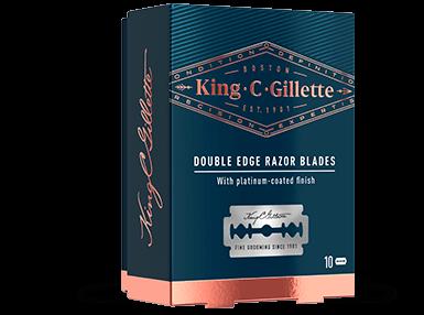 King C. Gillette Double Edge Blades