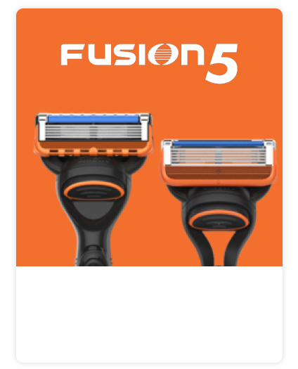 Gillette Fusion Range