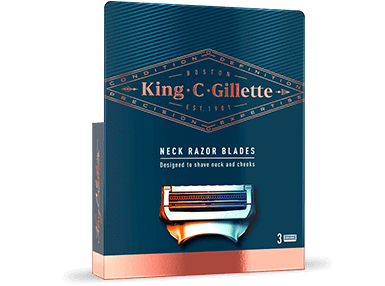 King C. Gillette Neck Razor Blades