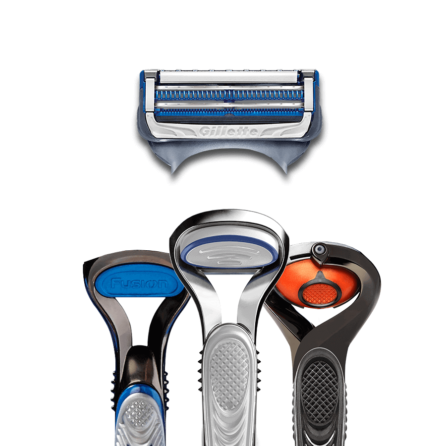 Gillette SkinGuard Sensitive cartridge also compatible with Fusion5 handles