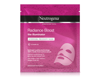 Radiance Boost Hydrogel Recovery Mask