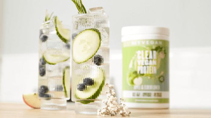 Apple & Elderflower Clear Vegan Protein Recipe