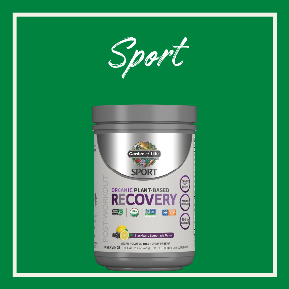 Sport Organic Recovery Pulver