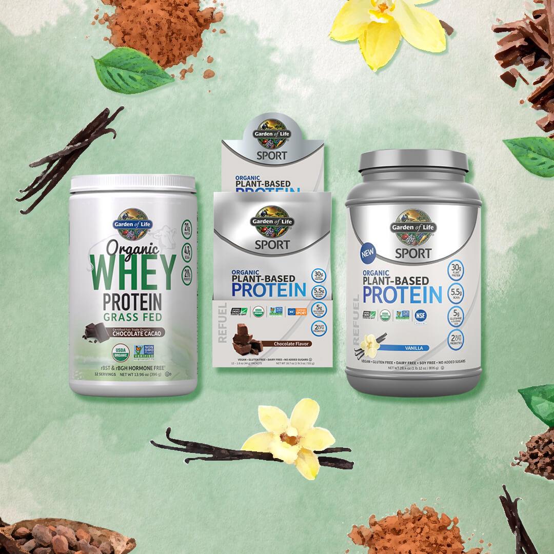 植物性の身体に優しいプロテインであなたの身体にタンパク質を安全に補給しましょう。
