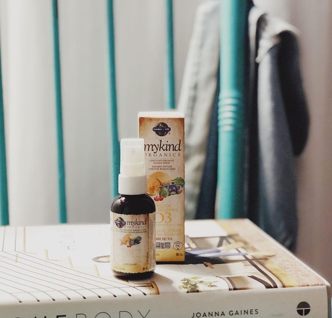 Витамин D3 mykind Organics в виде спрея
