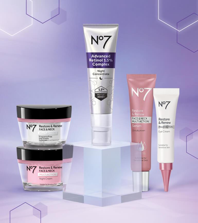 No7's new Advanced Retinol 1.5% Complex Night Concentrate