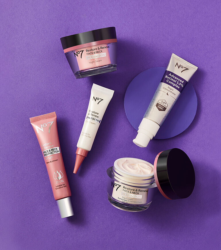 lift and luminate primer, concealer and foundation