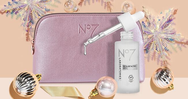 FREE No7 Makeup Bag