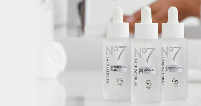 NEW No7 Laboratories Resurfacing Peel 15% Glycolic Acid