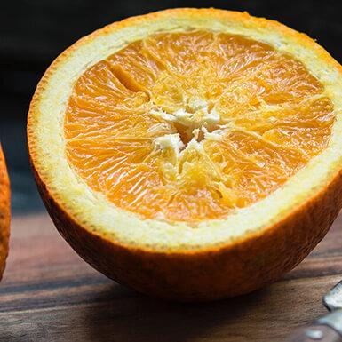 sobre naranja