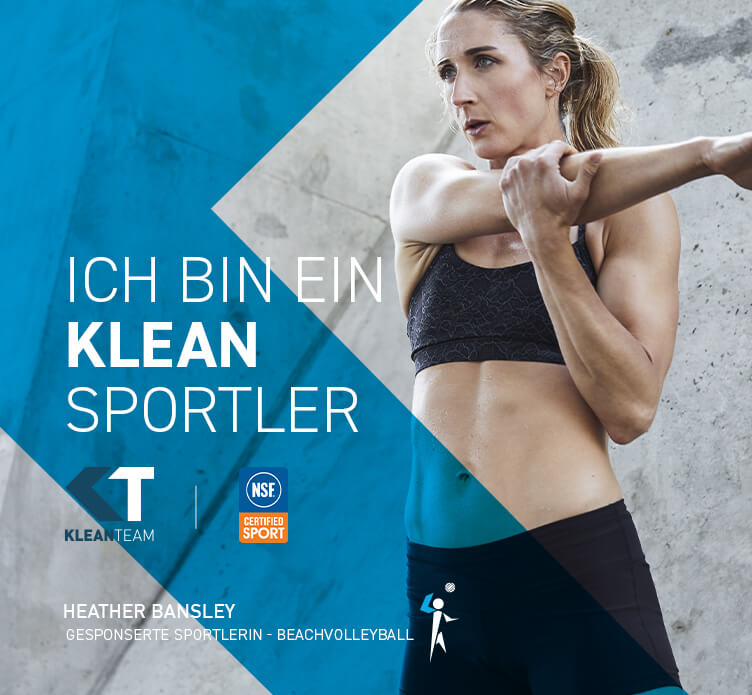 ICH BIN EIN KLEAN SPORTLER. Heather Banksley.