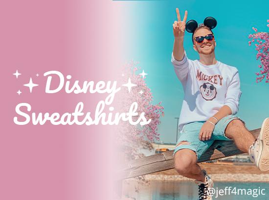 Disney Sweatshirt Collection at VeryNeko