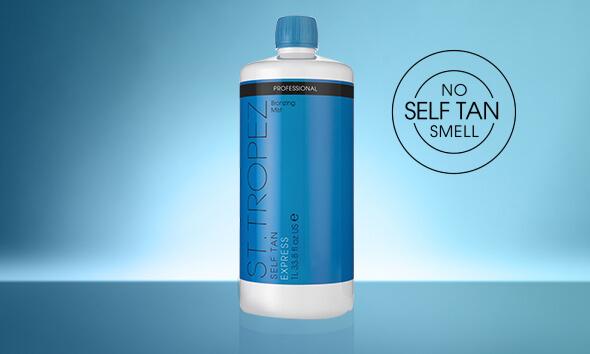 SELF TAN EXPRESS  PROFESSIONAL BRONZING MIST BOTTLE. No self tan smell.