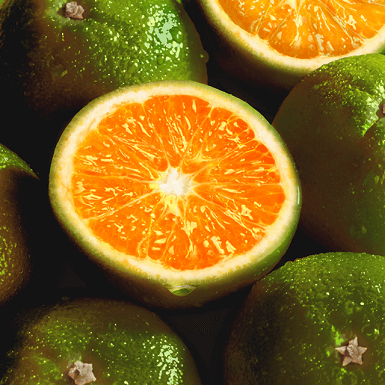 Green mandarin image