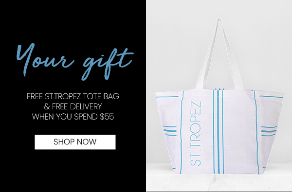 Free Tote Bag When You Spend $55