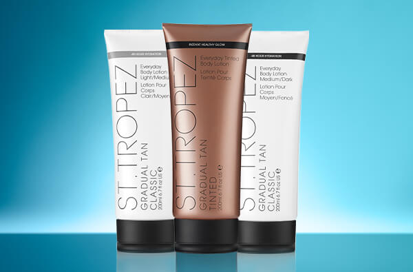 St.Tropez Homepage free Gradual Tan worth up to $30 when you spend $60 or more.