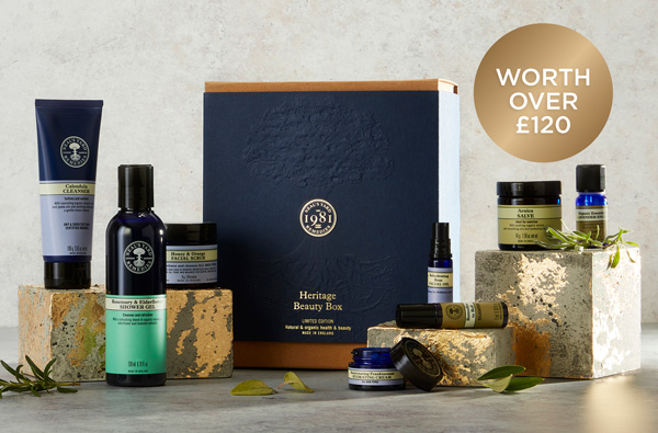 Heritage Beauty Box | Only £25* when you spend over £60
