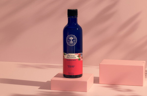 Wild Rose AHA Toner Gently renew & refine your skin with natural AHAs <br> for visibly enhanced radiance (90% agree their skin is visibly radiant*) *Based on a consumer trial with 109 women after 2 weeks