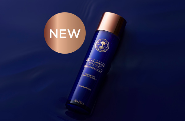 NEW: Frankincense Intense™ Hydrating Essence. Visibly smooth, condition and refine with a luxurious veil of hydration