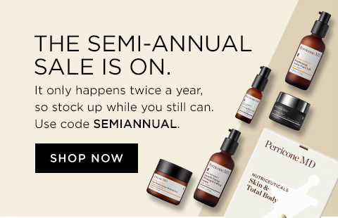 the semi annual sale is on