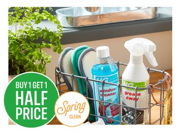 Buy One Get One Half Price on HG Cleaning