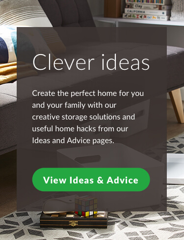 Clever Ideas. Create the perfect home for you and your family with our creative storage solutions and useful home hacks from our ideas and advice pages.