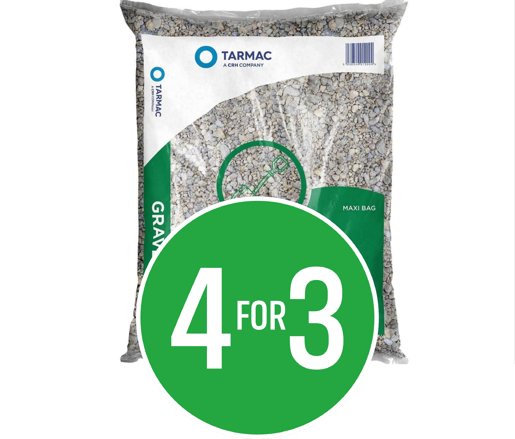 4 for 3 on IPP Tarmac Gravel 20mm Maxi Bag
