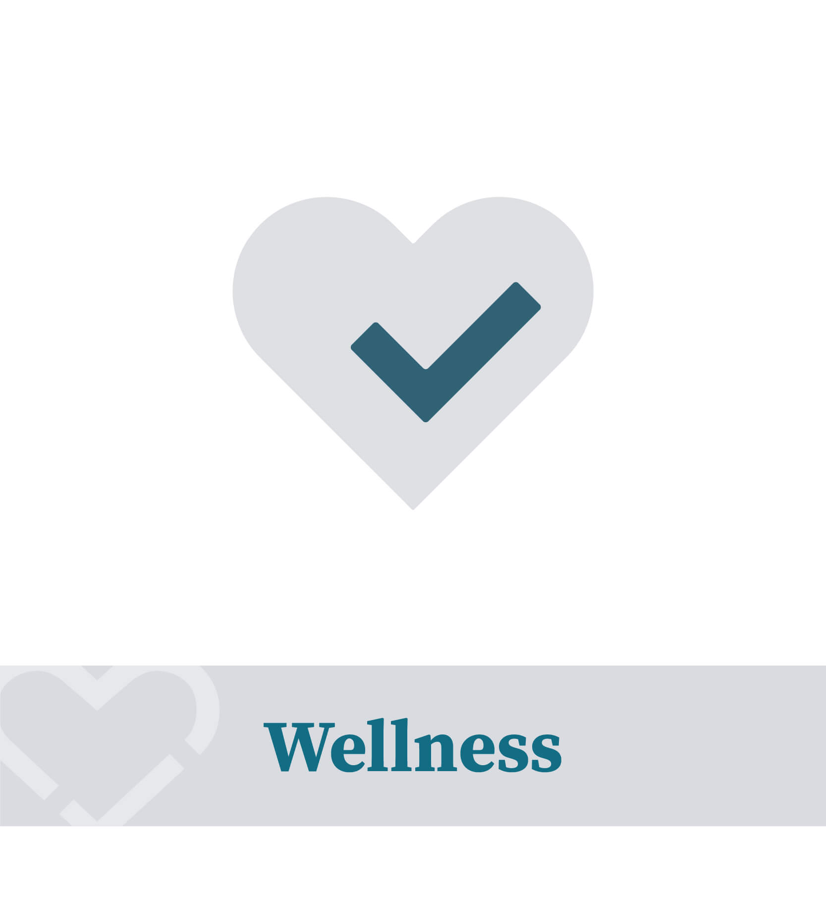 Wellness heart health logo