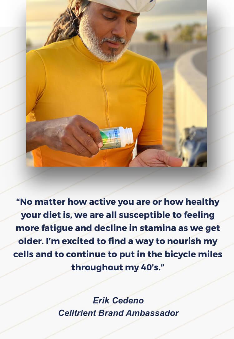 Celltrient Brand Ambassador testimonial