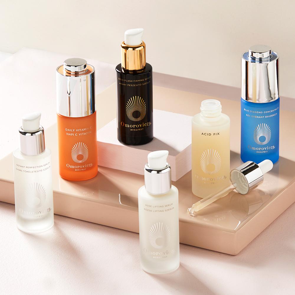 Omorovicza arc termékek