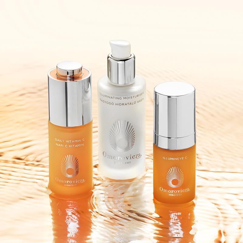 illumineye c, daily vitamin c, illuminating moisturiser