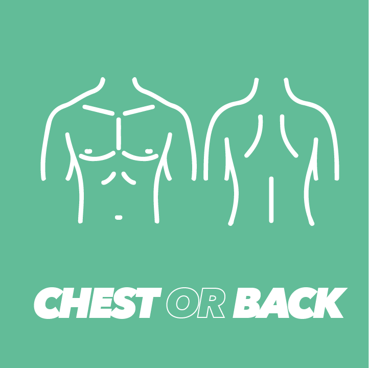 chest or back