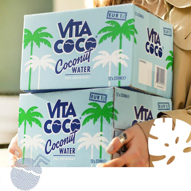 Sparkling Vita Coco Cans