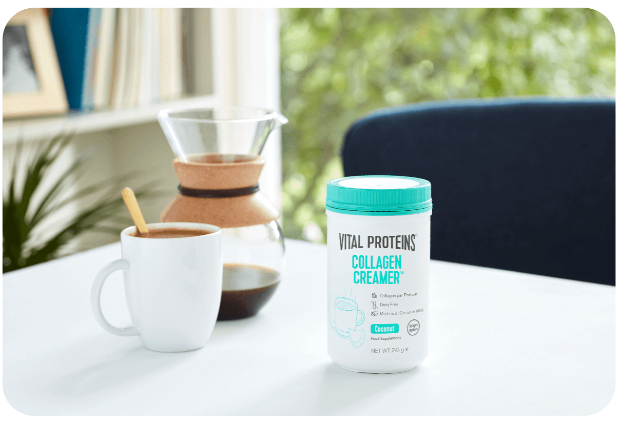 Shop our Coconut collagen creamer