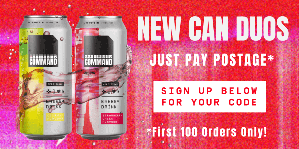 Team Up. New Can Duos. Just Pay Postage*. Sign Up Below For Your Code. *First 100 Orders Only!