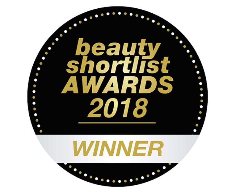 beauty shortlist awards 2018 winner roundel