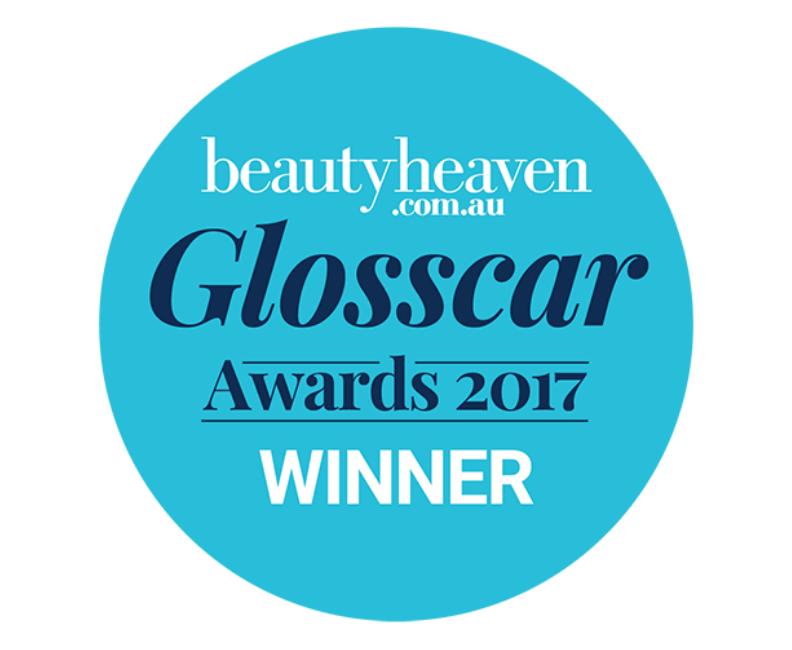 beautyheaven.com.au Glosscar awards 2017 winner roundel