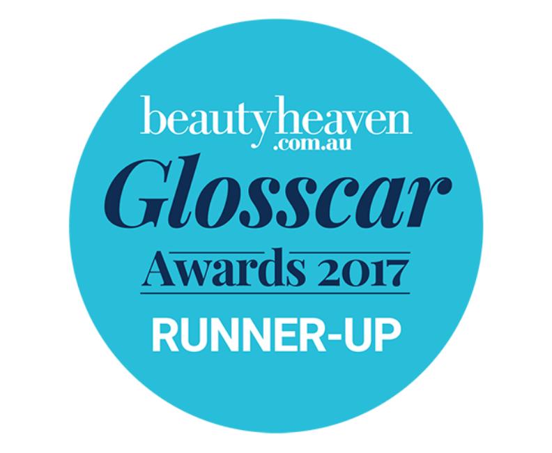 beautyheaven.com.au Glosscar awards 2017 runner-up roundel