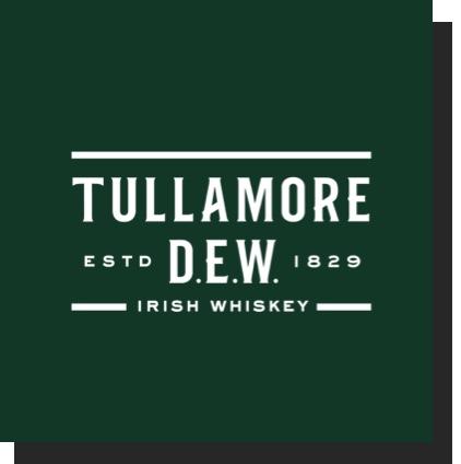 Tullamore D.E.W. The legendary Irish whiskey