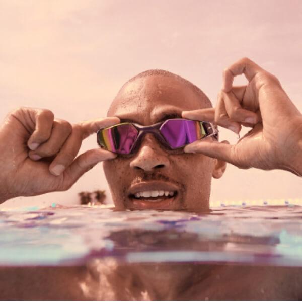 Choisissez vos lunettes de natation