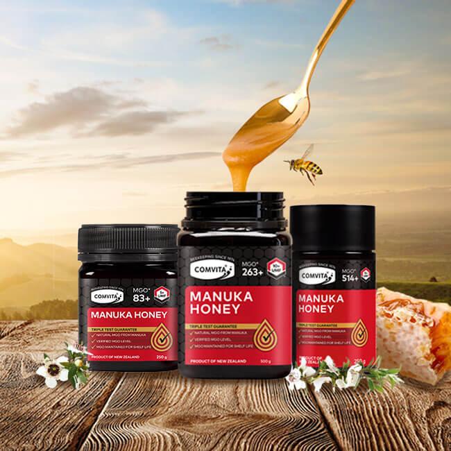 Shop manuka honey - nature's most powerful honey