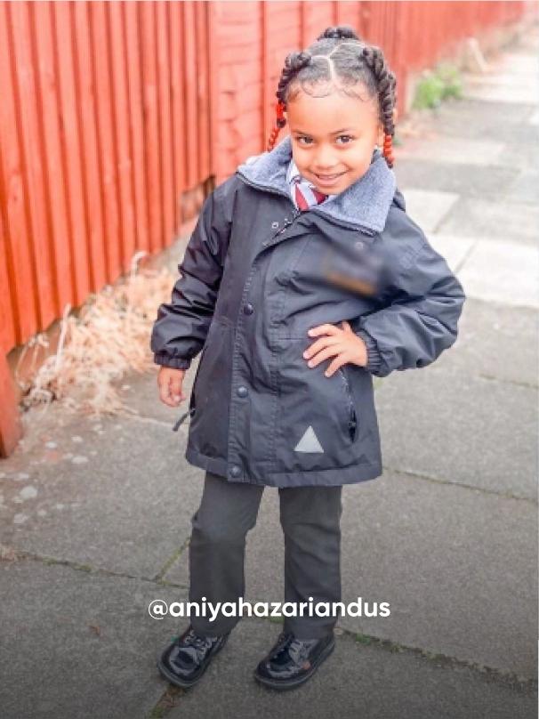 girl posting on the street - Visit Kickers Kids Instagram